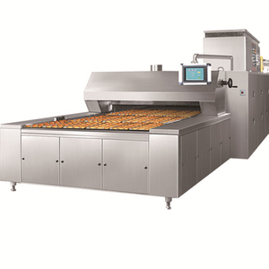 BDS-20Q Gas 3 Trays Tunnel Oven For Cupcake
